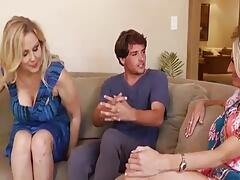 2 cougars, lucky delivery boy